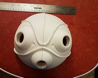 DIY Wearable Princess Mononoke San Mask