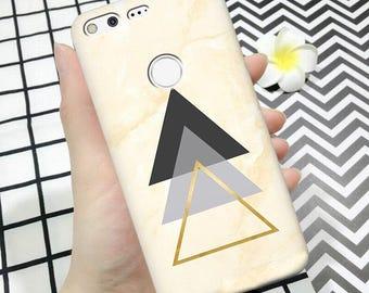 Pixel case, pixel 2 case, triangle, pixel 2 xl case, google pixel case, pixel xl case, google case, case for pixel, pixel triangle case
