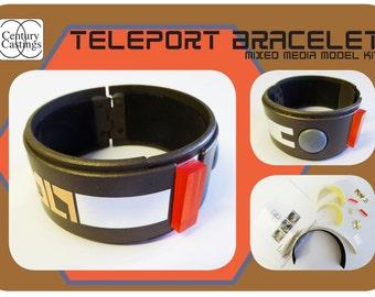 Blakes 7 teleport bracelet model kit science fiction retro