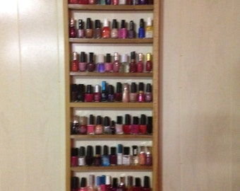 13.5in Wide Nail Polish Rack 90 plus ct
