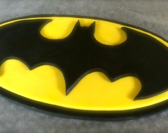 "Edible ""Batman"" Cake Topper - Fondant"