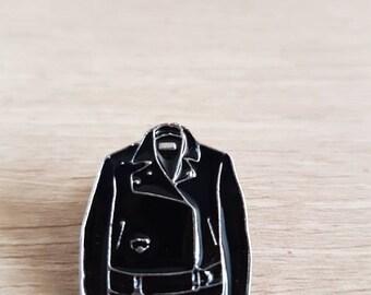 Leather Jacket Enamel Pin