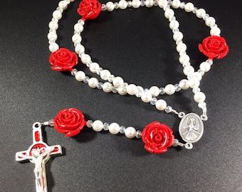 Confirmation Swarovski Rosary