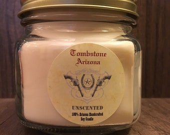 Tombstone Edition - Unscented Soy Candle 8 oz