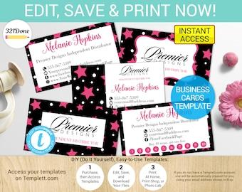 Premier designs card etsy premier designs jewelry business card kit printable premier jewelry cards premier jewelry business cards premier designs colourmoves