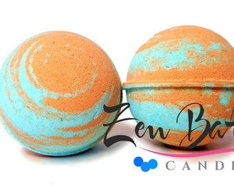 Honey Almond Bath Bomb | Bath Bombs | Bath Fizz | Vegan | Handmade