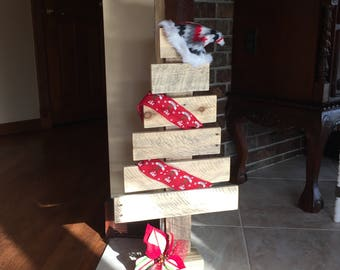 Pallet, Christmas, Tree, Natural, Reclaimed, Wood, Rustic, Vintage,