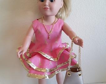 18 Inch Girl Doll Dress #184