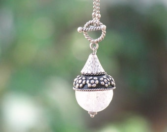 Mystical Healing Stone Quartz Necklace