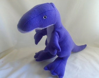 Purple T Rex Plush Toy