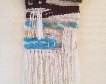 "ARTISANAL weaving, childhood memories ""baines"", boho chic"