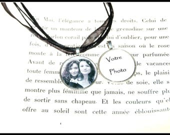 Personalized necklace with your photos