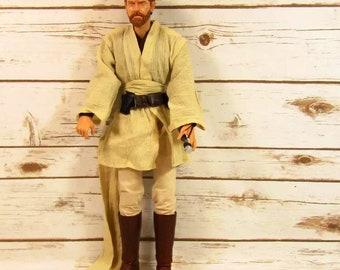 "Unique and Rare 19"" Obi Wan Kenobi Talking Figure from Star Wars"