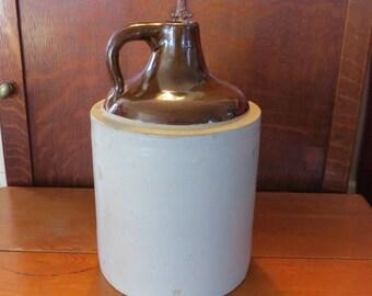Antique whiskey jug | Etsy