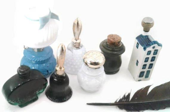 Novelty ink wells black india ink lantern dutch house journal