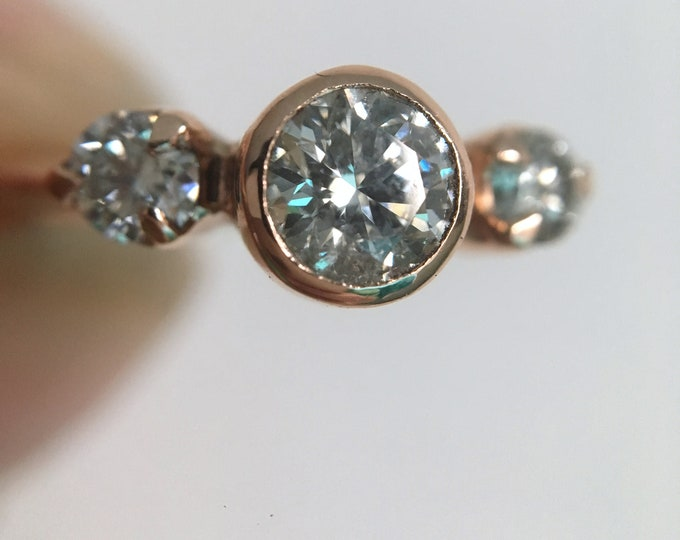 Featured listing image: One of a kind diamond ring