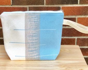 Handwoven Project Bag Saori