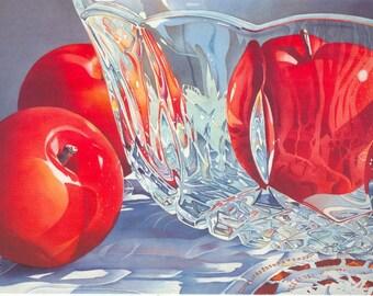 Plums - Red Plums Kitchen Art Plums Kitchen Print