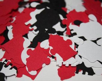 Dalmation and Fire Hydrant Die Cut Confetti Table Decor 200 pieces