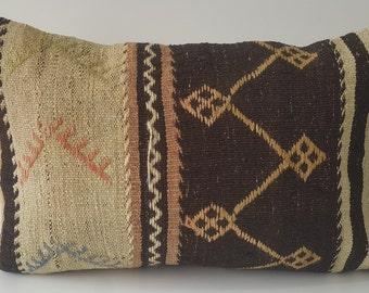 Kilim Pillow, Cushion Cover, Throw Pillow, Tribal Pillow, Turkish Kilim Pillow, Kilim Cushion, Decorative Kilim Pillow, Pillow Cover, Decor