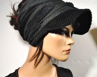 Visor turban with winter on order
