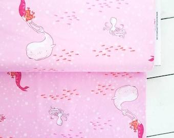 The Best of Sarah Jane - Mermaid Play(Pink) - Sarah Jane - Michael Miller Fabrics