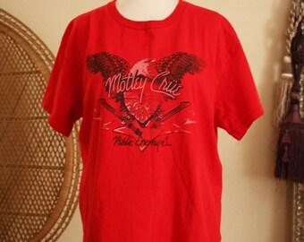 Vintage Motley Crue shirt