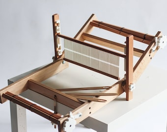 Weaving loom. Table loom. Rigid heddle loom. Weaving loom kit. Working section - 30 cm (11.8 inch)