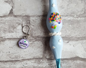 Disney Up Inspired Ergonomic Crochet Hook