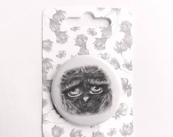 button pins, buttons, funny button pin, backpack pins, accessories, birthday gift, pins, button badge, owl accessories