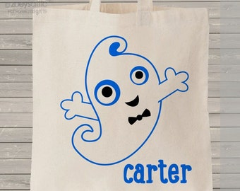 Halloween bag trick or treat ghost bag perfect to use as a halloween bag to collect all the candy MBAG1-016