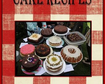 2444 Cake Recipes E-Book Cookbook Digital Download