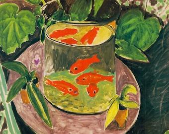 Henri Matisse Goldfish, 1911