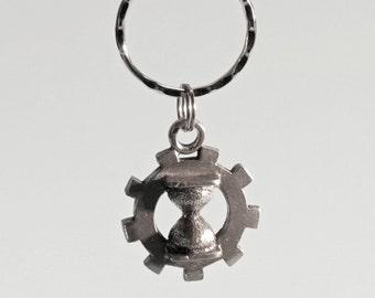 Time Travel Aid SteamPunk key chain