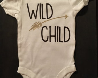 Wild Child Onesie.
