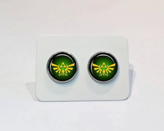 Stainless Stud Earrings The Legend of Zelda Triforce