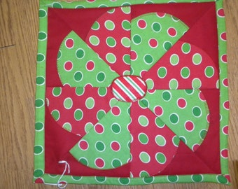 Christmas table centerpiece/ wall hanging