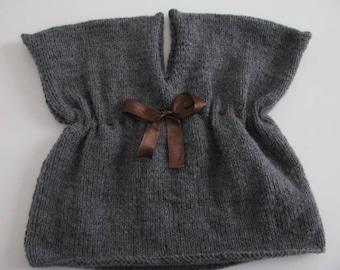 Gray wool dress size 3 months