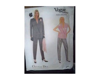 Vogue Pattern 1073 - Christian Dior Jacket - Uncut