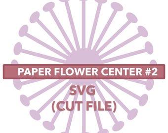 Flower Center #2 SVG File