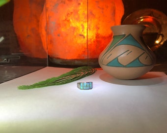 Australian Opal ring ( Hand Made )