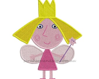 Holly (Ben and Holly) Embroidery Design