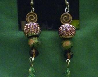 Elemental Night Earrings