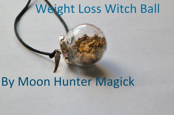 Weight Loss Witch Ball Weight Management Witch Bottle Pagan Wicca Ritual Supply