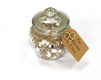 Love memory jar kit anniversary gift gift for