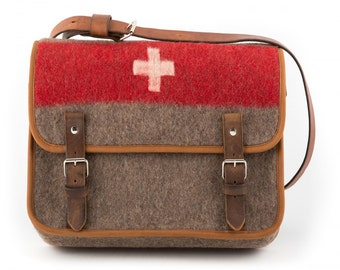 WD6 Swiss Army Blanket Laptop Bag by Karlen Swiss