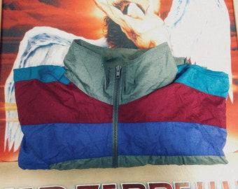 Vintage USA Olympic Multi-Color Jacket Size XL