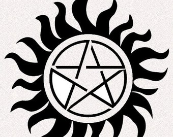 Supernatural Anti-Possession Tattoo Sets
