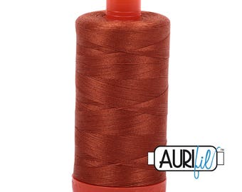 Aurifil Italian Threads-100% Cotton 40wt Piecing and Applique-Large Spool 1092 Yards-2390 Cinnamon Toast
