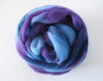 Grape Jelly Wool Roving 1oz (Northern Lights/Louet)